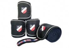 HKM INTERNATIONAL FLAGS BANDAGES NAVY BLUE - RRP £17.95